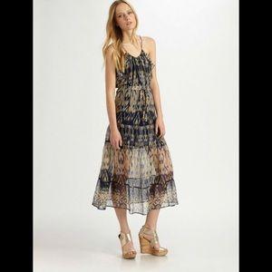 Joie 💯 Silk Midi Dress